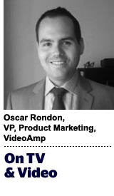 Oscar Rondon, VP of product marketing, VideoAmp