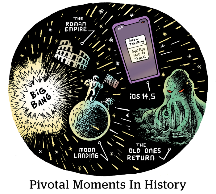 Comic: Pivotal Moments In History