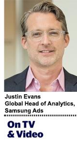 Justin Evans Samsung Ads