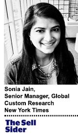Sonia Jain New York Times