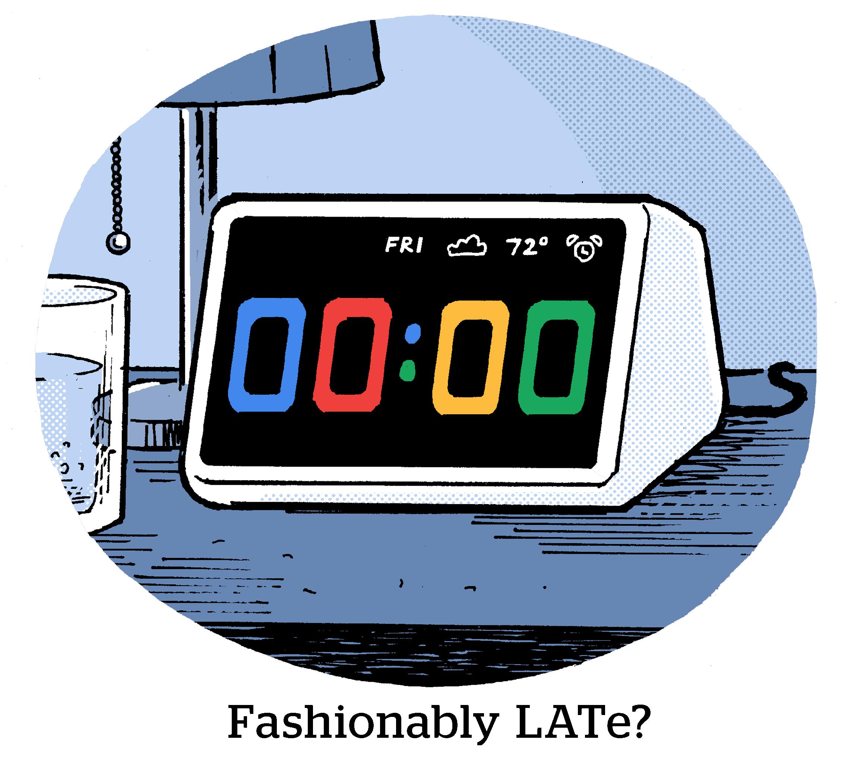 Comic: Fashionably LATe?