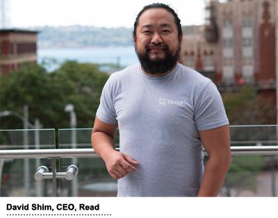 David Shim, CEO & co-founder, Read