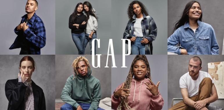 "Gap's fall ""Individuals"" campaign"