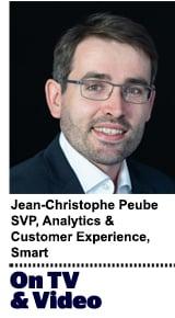 Jean-Christophe Peube, SVP, Analytics & Customer Experience Smart