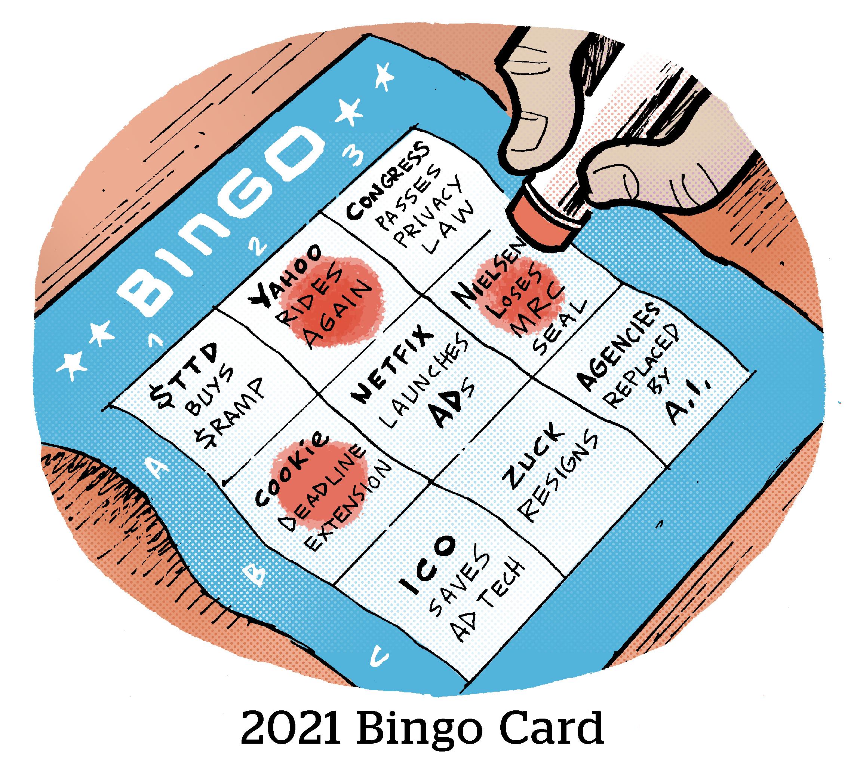 Comic: 2021 Bingo Card