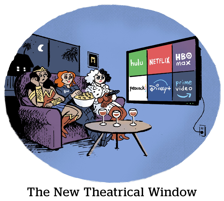 Comic: The New Theatrical Window