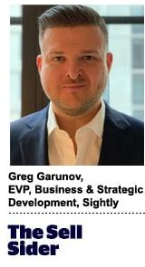 Greg Garunov, EVP, Business & Strategic Development, Sightly