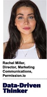 Rachel Miller, director of marketing communications, Permission.io