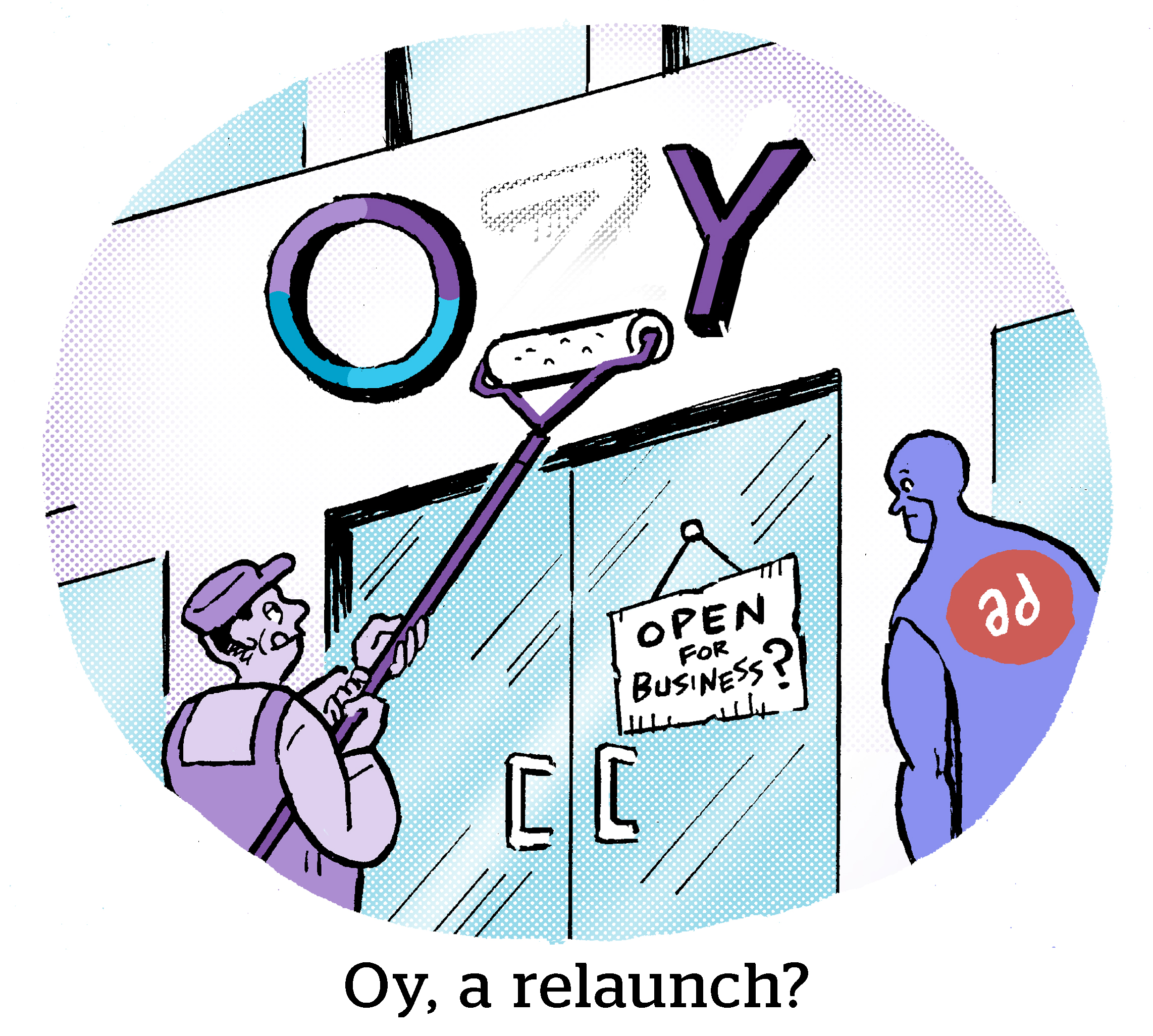Comic: Oy, a relaunch?