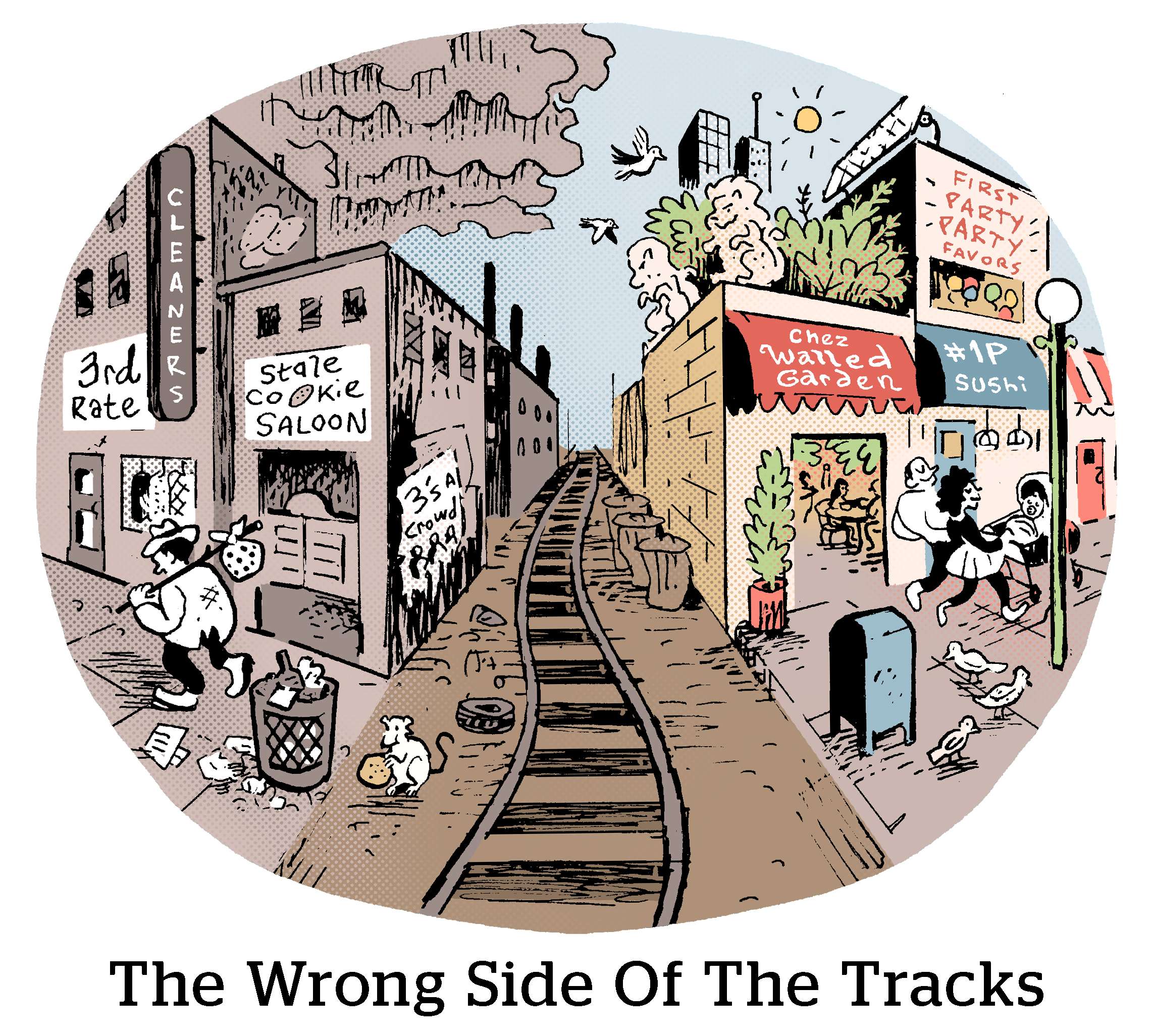 Comic: The Wrong Side Of The Tracks